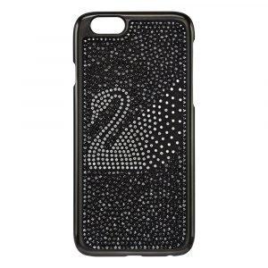 Swarovski Swan Iphone 6 Kännykkäkuori Musta