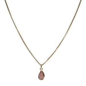 Syster P Beloved Chain Gold Pink Opal kaulakoru