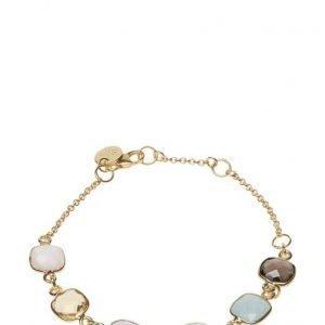 Syster P Cushion Bracelet Gold Aquamarine rannekoru