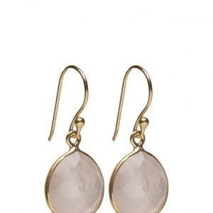 Syster P Raindrop Earrings Gold Rose korvakorut