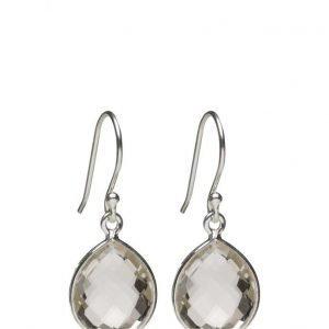 Syster P Raindrop Earrings Silver Crystal korvakorut
