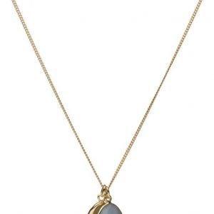 Syster P Single Nugget Necklace Gold Angelite kaulakoru