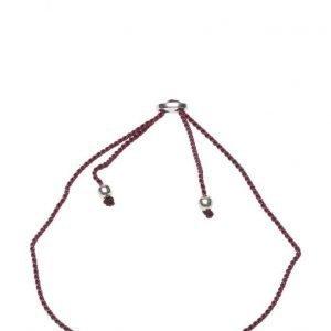 Syster P Sparkle Bracelet Feather Silver Grape rannekoru