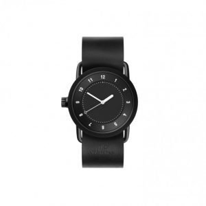TID Watches No.1 36 Black / Black Lea Kello Black