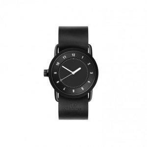 TID Watches No.1 36 Black / Black Lea Kello Black