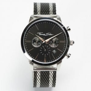 Thomas Sabo Rebel Spirit Chrono Mesh Black / Silver