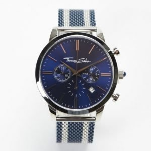 Thomas Sabo Rebel Spirit Chrono Mesh Navy / Silver