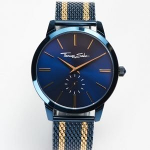 Thomas Sabo Rebel Spirit Mesh Navy / Gold