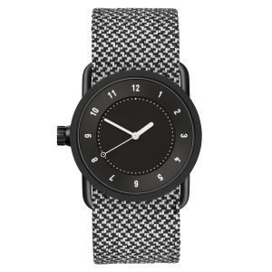 Tid Watches Tid No.1 Musta Rannekello Granite Twain 33 Mm