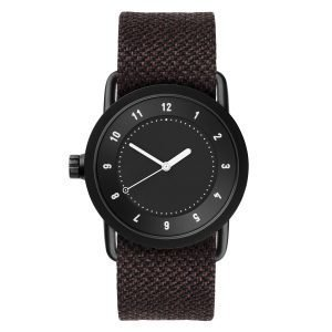 Tid Watches Tid No.1 Musta Rannekello Mud Twain 36 Mm