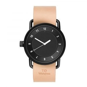 Tid Watches Tid No.1 Musta Rannekello Natural 36 Mm