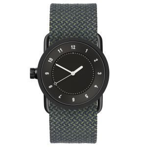 Tid Watches Tid No.1 Musta Rannekello Pine Twain 33 Mm