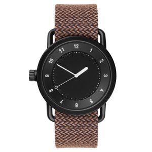 Tid Watches Tid No.1 Musta Rannekello Rust Twain