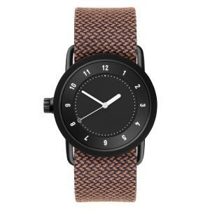Tid Watches Tid No.1 Musta Rannekello Rust Twain 36 Mm