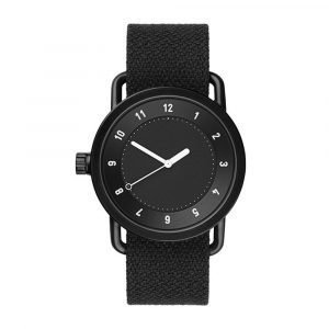 Tid Watches Tid No.1 Musta Rannekello Twain Coal 40 Mm