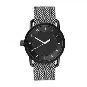 Tid Watches Tid No.1 Musta Rannekello Twain Granite 36 Mm