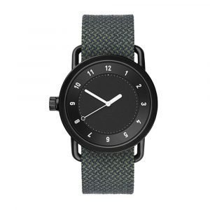 Tid Watches Tid No.1 Musta Rannekello Twain Pine 36 Mm