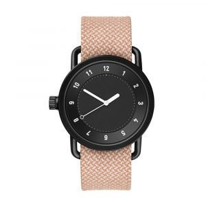 Tid Watches Tid No.1 Musta Rannekello Twain Salmon 40 Mm