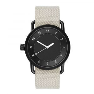 Tid Watches Tid No.1 Musta Rannekello Twain Sand 36 Mm