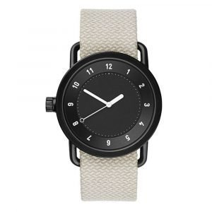 Tid Watches Tid No.1 Musta Rannekello Twain Sand 40 Mm