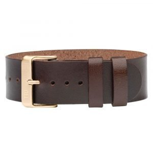 Tid Watches Tid No.1 Nahkaranneke Gold / Walnut