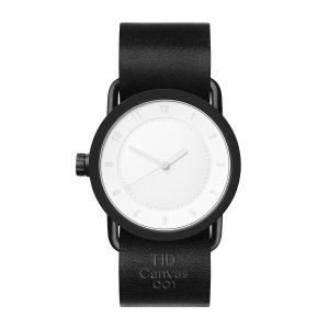 Tid Watches Tid No.1 Rannekello Musta Canvas 36 Mm