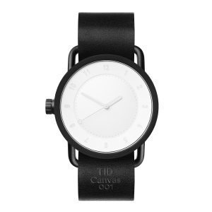 Tid Watches Tid No.1 Rannekello Svart Musta 40 Mm