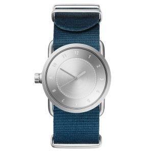 Tid Watches Tid No.1 Teräs Rannekello Sininen Nylon 33 Mm