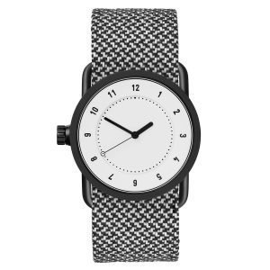 Tid Watches Tid No.1 Valkoinen Rannekello Granite Twain 33 Mm