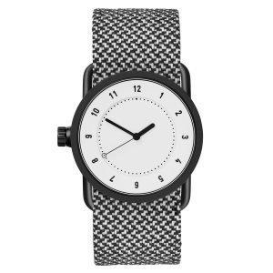 Tid Watches Tid No.1 Valkoinen Rannekello Granite Twain 33 Mm