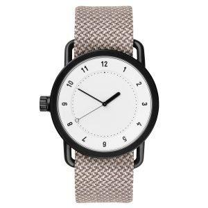 Tid Watches Tid No.1 Valkoinen Rannekello Mill Twain