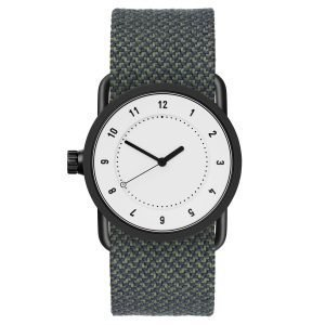 Tid Watches Tid No.1 Valkoinen Rannekello Pine Twain 33 Mm