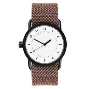 Tid Watches Tid No.1 Valkoinen Rannekello Rust Twain 36 Mm