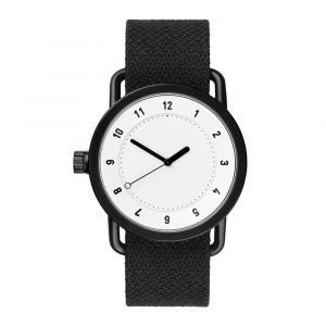 Tid Watches Tid No.1 Valkoinen Rannekello Twain Coal 36 Mm
