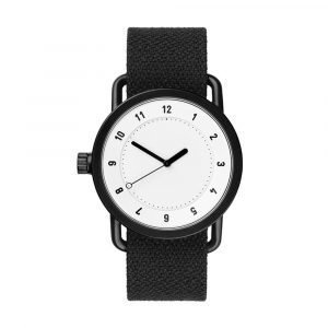 Tid Watches Tid No.1 Valkoinen Rannekello Twain Coal 40 Mm