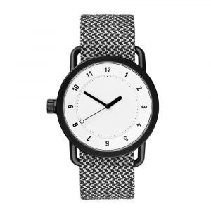 Tid Watches Tid No.1 Valkoinen Rannekello Twain Granite 36 Mm