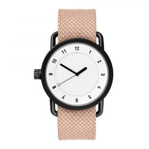 Tid Watches Tid No.1 Valkoinen Rannekello Twain Salmon 36 Mm
