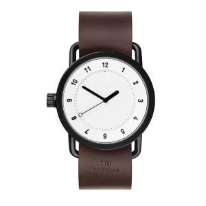 Tid Watches Tid No.1 Valkoinen Rannekello Walnut 36 Mm
