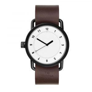 Tid Watches Tid No.1 Valkoinen Rannekello Walnut 36 Mm