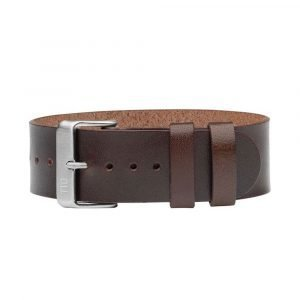 Tid Watches Tid No.2 Nahkaranneke Walnut