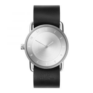 Tid Watches Tid No.2 Rannekello Black Nahkaranneke 36 Mm