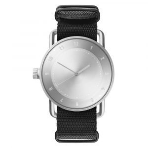 Tid Watches Tid No.2 Rannekello Nato Black Nylon 40 Mm
