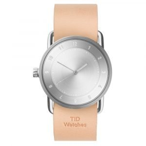 Tid Watches Tid No.2 Rannekello Natural Nahkaranneke 36 Mm