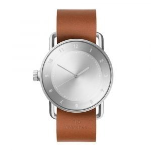 Tid Watches Tid No.2 Rannekello Tan Nahkaranneke 40 Mm