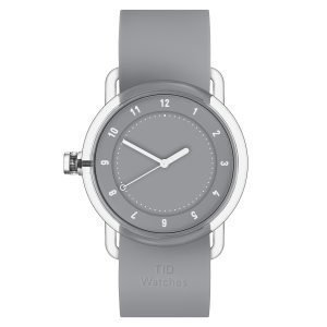 Tid Watches Tid No.3 Tr90 Rannekello Harmaa 38 Mm
