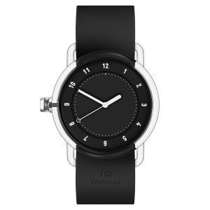 Tid Watches Tid No.3 Tr90 Rannekello Musta 38 Mm