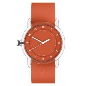 Tid Watches Tid No.3 Tr90 Rannekello Oranssi 38 Mm