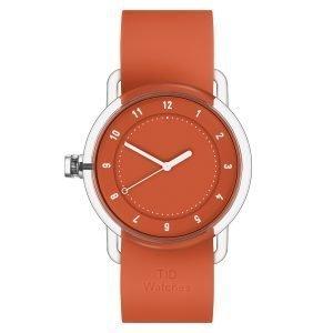 Tid Watches Tid No.3 Tr90 Rannekello Oranssi 38 Mm