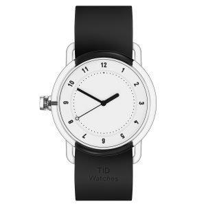 Tid Watches Tid No.3 Tr90 Rannekello Valkoinen 38 Mm