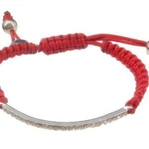 VÅGA Armband Bling Röd